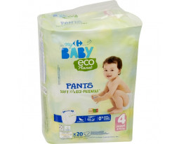 Couches Culottes Taille 4 8-15kgs Eco Carrefour Baby