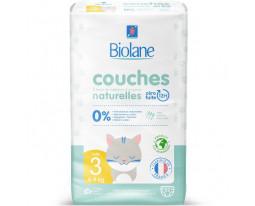 Couches Naturelles Zéro Fuite T3 Biolane