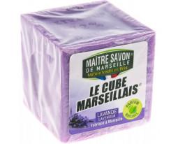 Savon Cube Lavande Parfum Naturel Maître Savon