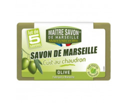 Savon de Marseille Olive Cuit au Chaudron Maître Savon