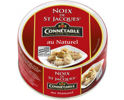 Noix de Saint Jacques au Naturel Connétable