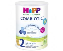 Lait en Poudre Suite 2 Combiotic Dès 6 Mois Bio Hipp