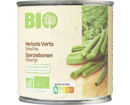 Haricots Verts Extra-Fin Bio Carrefour