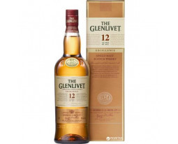 Scotch Whisky Single Malt 12 Years Excellence The Glenlivet 40% Vol