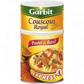 Couscous Royal Poulet et Boeuf Express Garbit