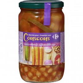 Légumes Cuisinés pour Couscous Carrefour